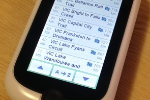 A few examples of the 'Where to Ride' options for Victoria