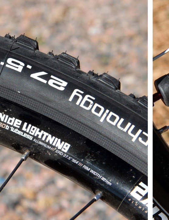 Tubeless setups can be safely run at very low pressures and can self-repair, which can be extremely useful in certain situations