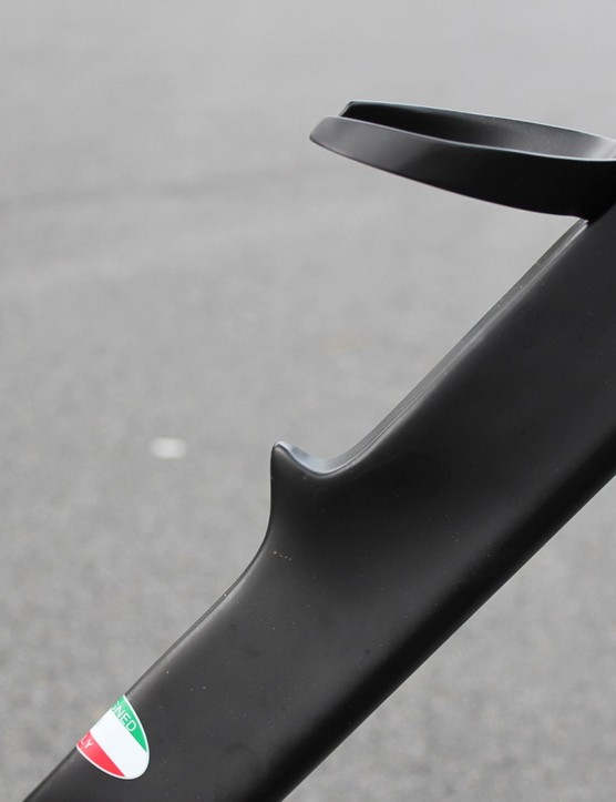 The Aero Lite frame incorporates part of the water-bottle cage
