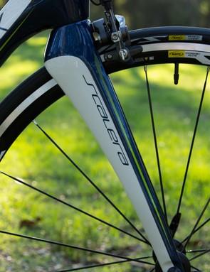 Silverback's aero fork is stiff –perhaps a little too stiff