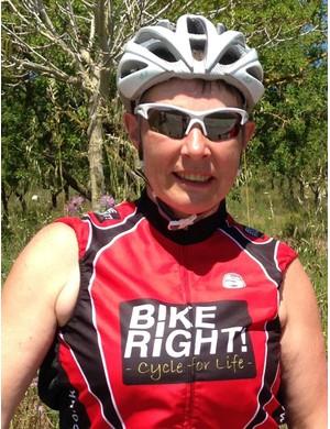 Jo Somerset, director at cycle training company BikeRight!