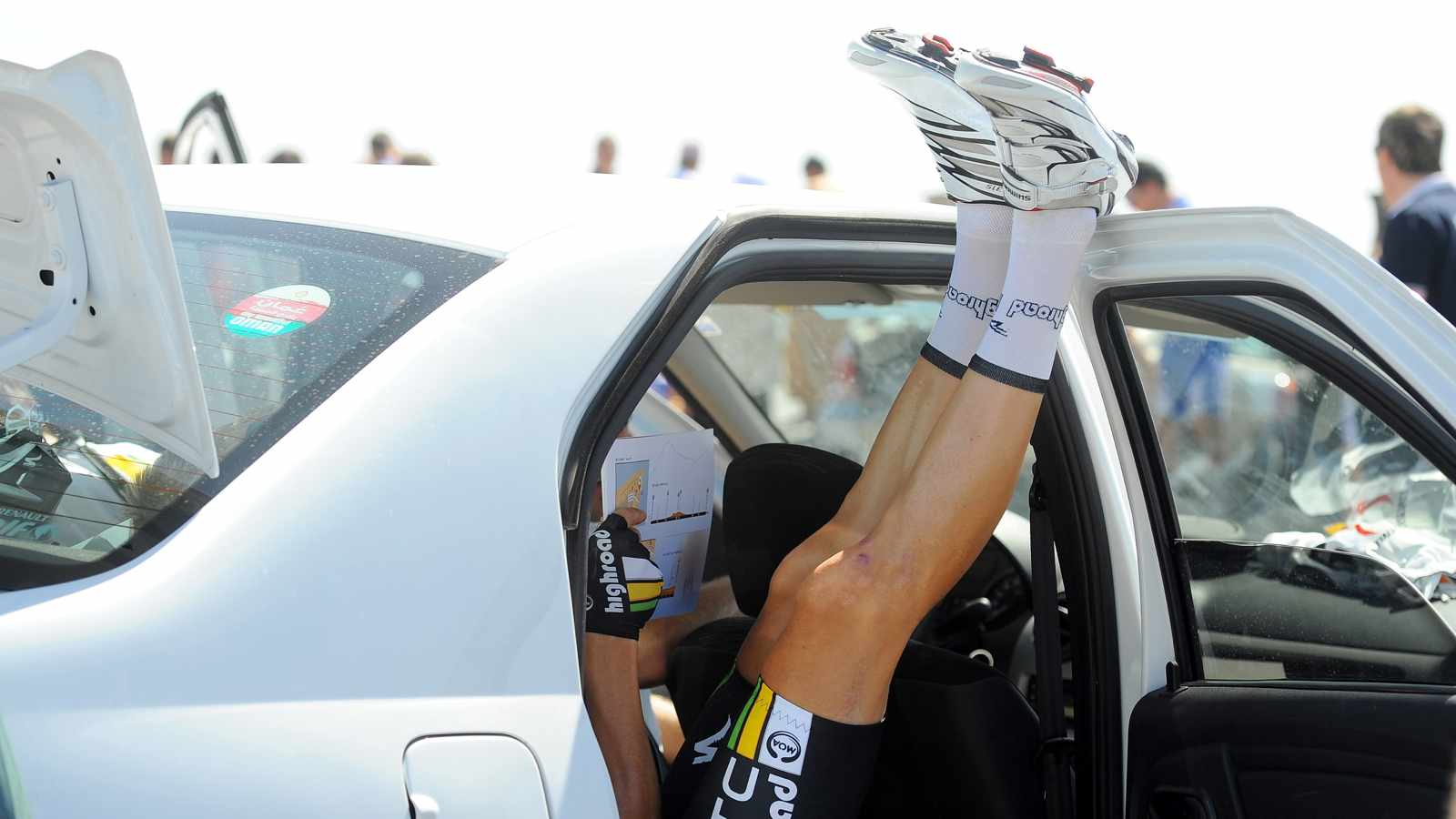 Have you been doing a lot of hard rides? Maybe it's time to put your feet up for a while