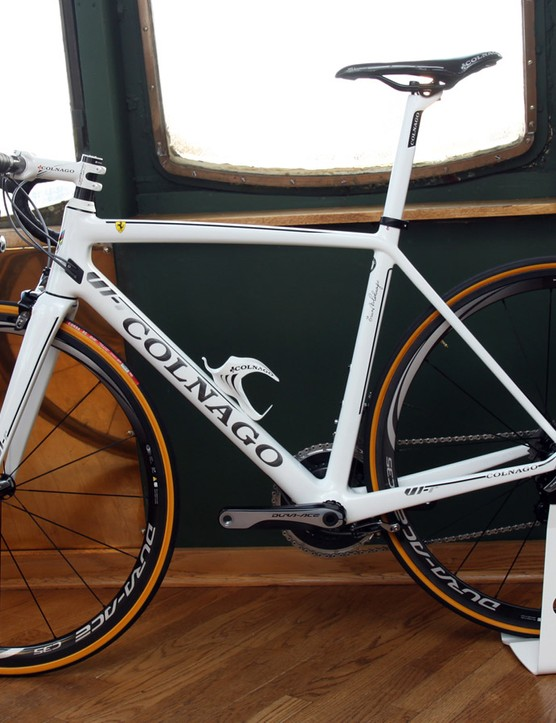 Colnago will offer the new V1-r in three colors, including all-black, all-white, and a black/white/red scheme