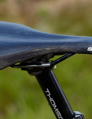 SDG Circuit saddle and Thomson Elite seatpost