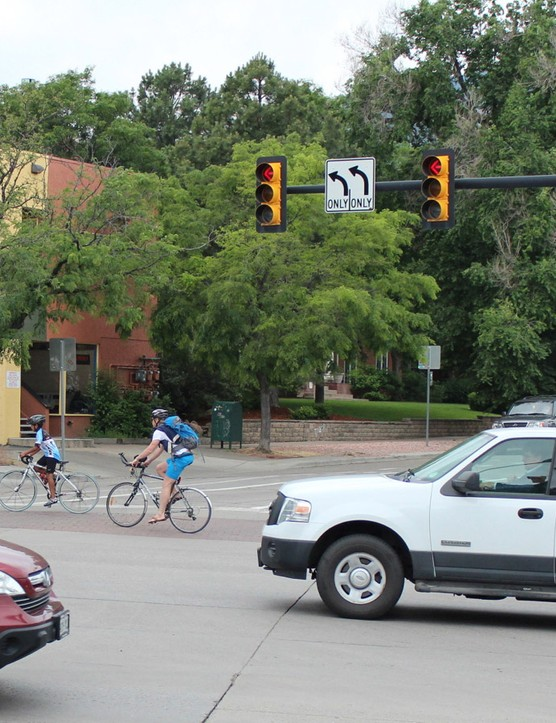 The study did not examine the impact cycling safety provisions - such as separate bike lanes and signage - had on the number of accidents