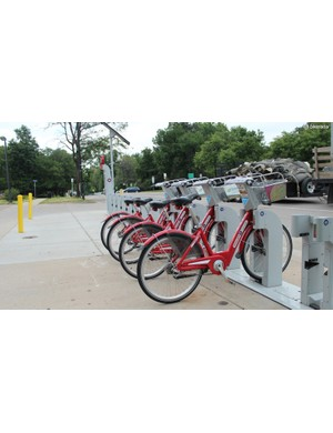 Boulder has a city bike program called B-Cycle