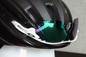 Giro acknowledges that not all glasses will fit well into the storage ports but that the company tested most popular brands and models