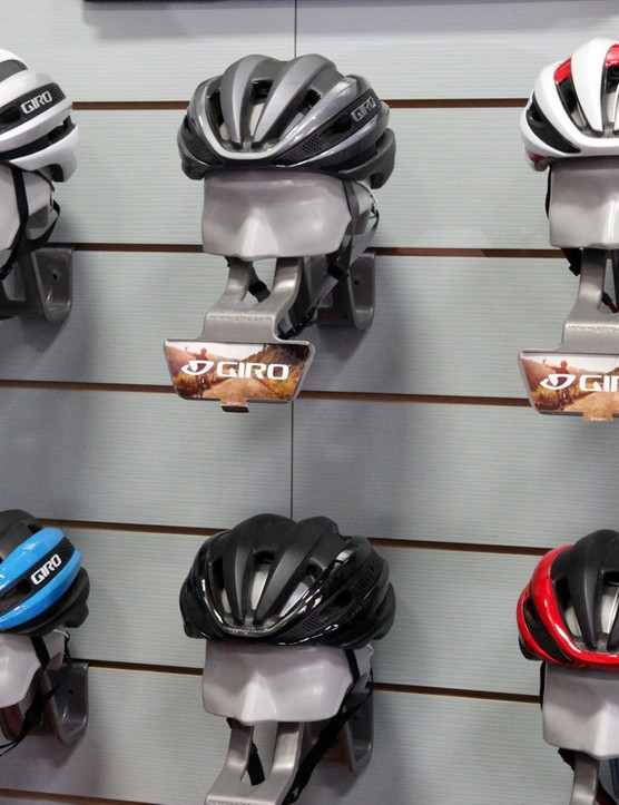 The new Giro Synthe will be offered in seven standard colors plus an additional limited edition scheme