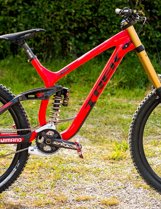 Brook MacDonald's carbon Trek is no slouch either