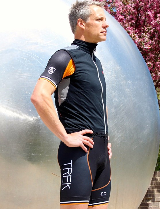The RXL Windshell Vest is windproof, water-resistant and comfortably stretchy