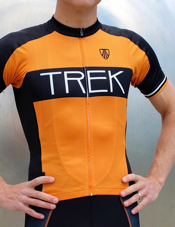 The new Bontrager RL Jersey (US$109/£69) has a more relaxed cut, and more traditional, shorter sleeves