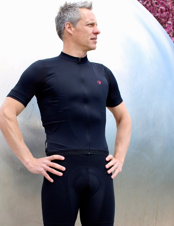 The new Bontrager RXL Jersey (US$119/£79) features a snug fit, longer arms and a mix of Profila Dry and Profila Cool mesh fabric