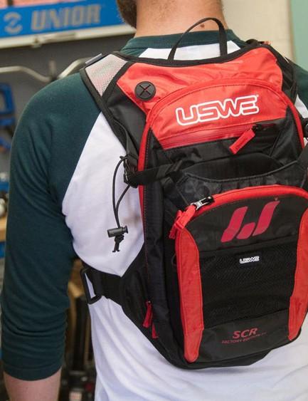 USWE F4 hydration pack