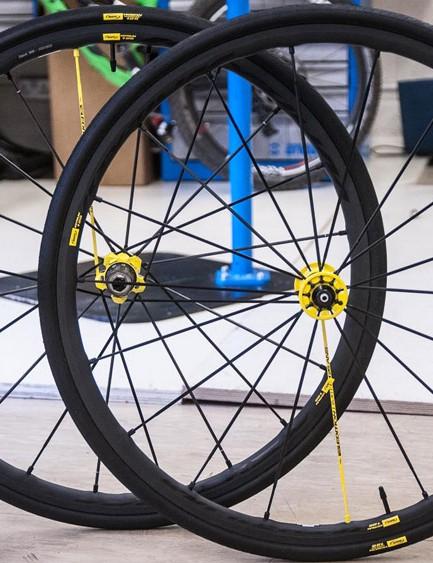 Mavic Ksyrium R-Sys 125 Ans wheels