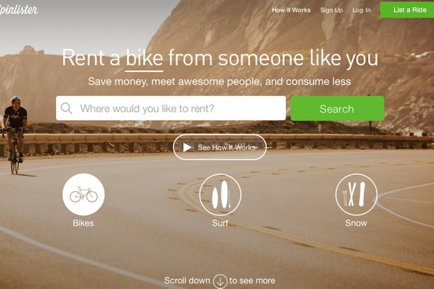 Spinlister could help you make money from your bikes