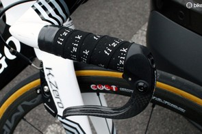 Fizik bar tape for the grippier parts of the course