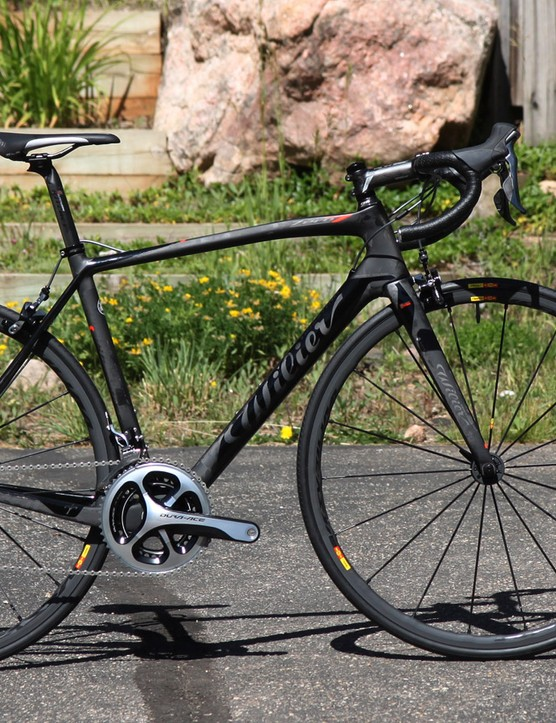 Wilier Triestina has updated its ultralight Zero.7 model, maintaining a similar 750g claimed frame weight (medium size) but with additional stiffness and more modern features