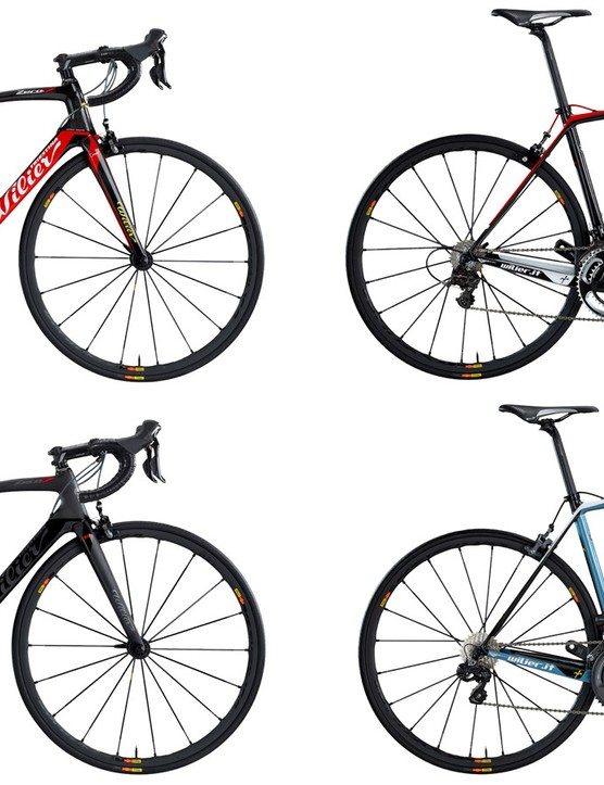 Wilier Triestina will offer the new Zero.7 in four different colors