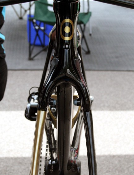 The front end of Wiggins' Bolide is very very sleek