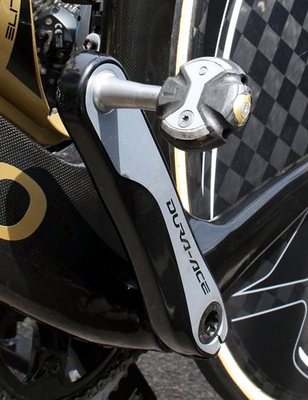 Speedplay Zero Nanogram pedals help keep the weight down