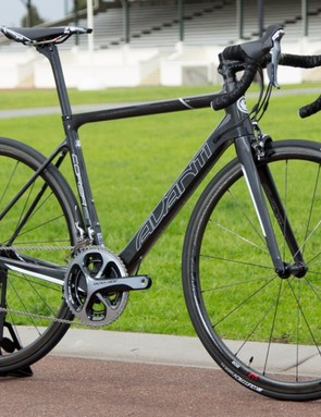The 6.65kg Avanti Corsa SL Team is just a small part of the expansive 2015 range covering kids, lifestyle, fitness, road and mountain
