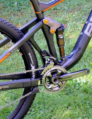 The 130mm Speedfox sits between the Fourstroke and the Trailfox