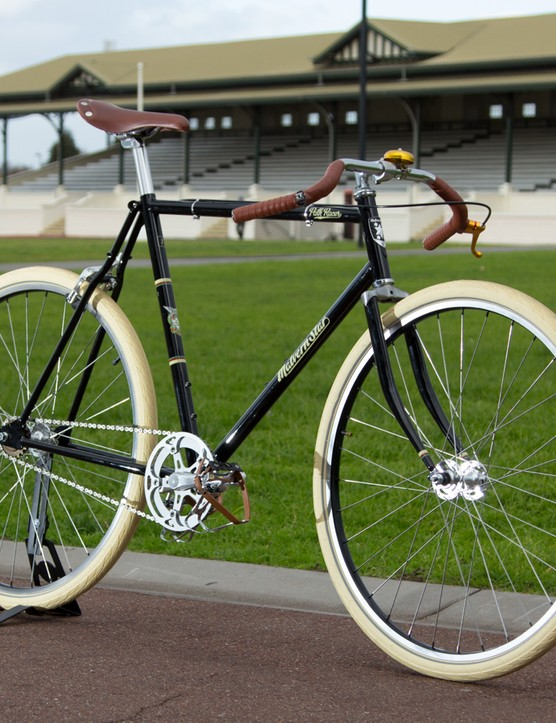 The Malvern Star Path Racer borrows inspiration from Malvern Star's rich 110-year existence