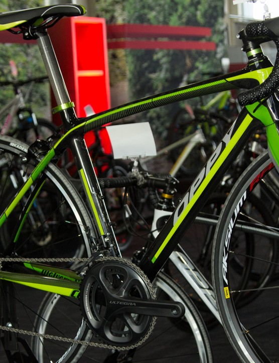The Oppy C6 is now the brand's most expensive offering - $2,799 with 22-speed Shimano Ultegra