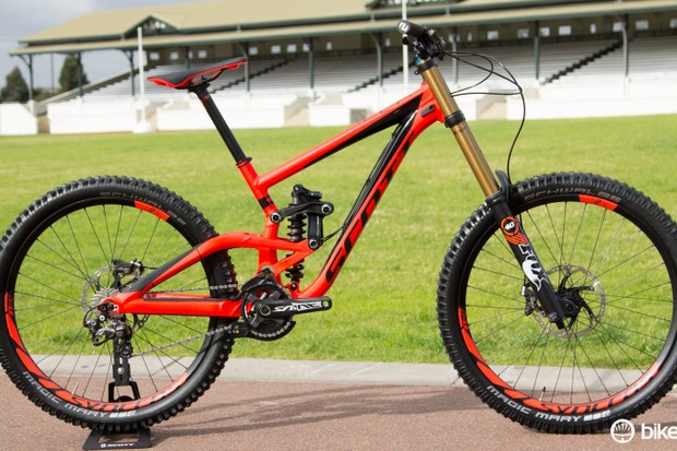 The new Gambler was a key part of the 2015 Scott Bikes launch