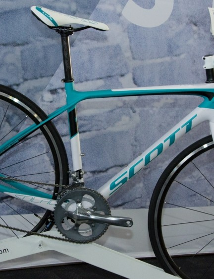 The Contessa Solace 35 with Shimano Tiagra components should be a comfortable women's bike on a budget
