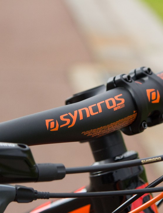Syncros components feature throughout the Genius LT line-up