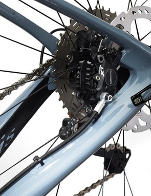 Thin seatstays should help to soothe the ride quality