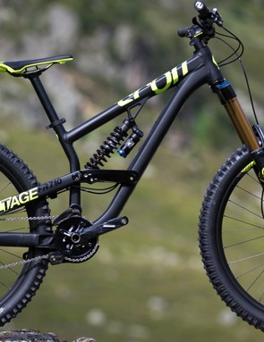 The coordinated matt black and neon yellow is going to be a surefire winner for the Voltage FR710