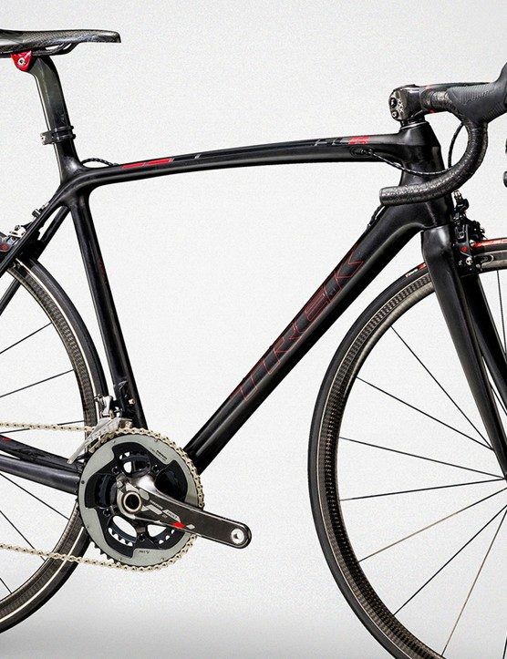 The new Trek Émonda SLR 10 weighs a scant 10.25lb built up as shown
