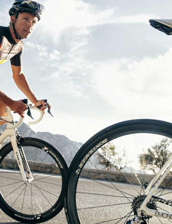 Trek used its pro riders as part of the 30-month creation process for the climbing bike