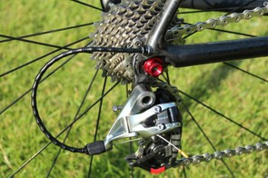 Being the lightest production group, SRAM Red got the group spec