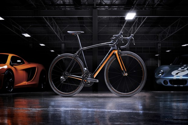 The Specialized McLaren S-Works Tarmac is priced at £16,000 / US$20,000