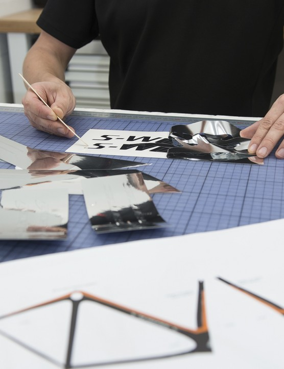 Specialized has created a separate production line to build this highly-limited run to the exacting standards required. Only the most highly-skilled technicians will work on it