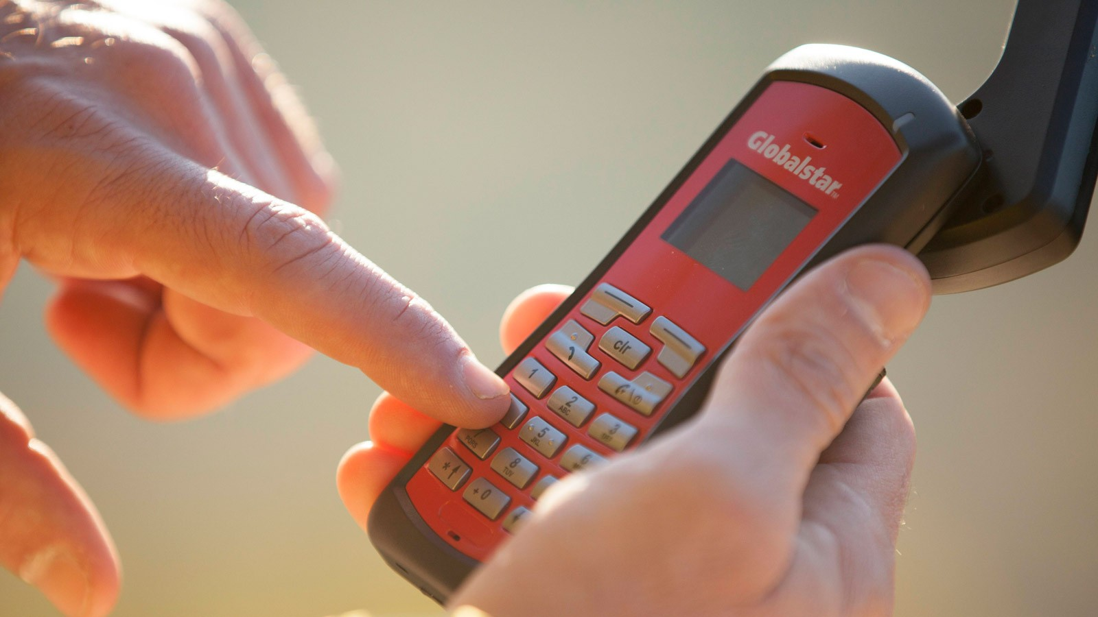 Globalstar's satellite phone is to be used on the Tour