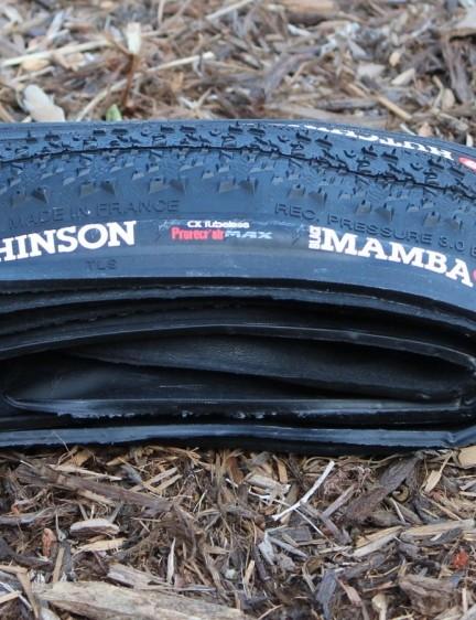Hutchinson's Black Mamba CX cyclocross tubeless tire