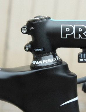 Each Team Sky stem is marked to exact length - not the claimed standard 10mm increments