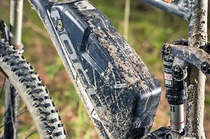 RockShox' Monarch RT keeps the rear end firmly in check