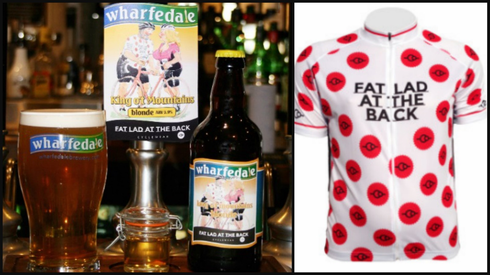 Fat Lad At The Back has launched a special King o' t Mountains beer and jersey