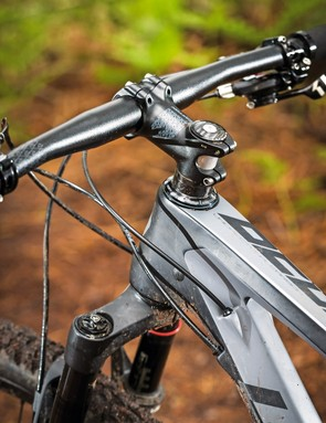 Internal cable routing keeps things looking clean and businesslike