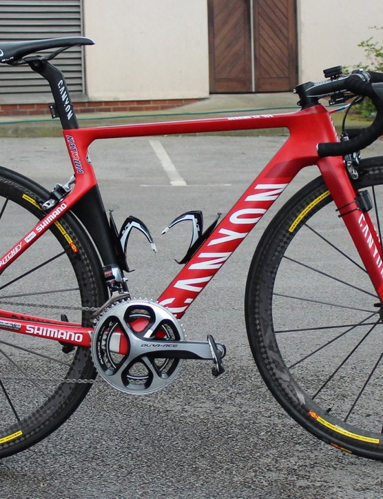 The new Canyon Aeroad CF SLX is a 960g frame that has been in development since 2012