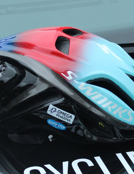 Mark Cavendish's Help for Heroes Specialized Evade will be auctioned after the Tour de France