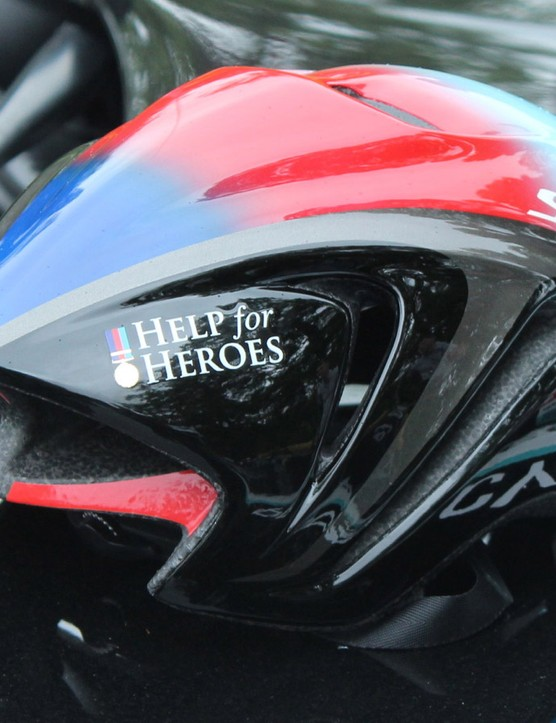 Mark Cavendish's Help for Heroes Specialized Evade will be worn for the first three stages while the race is in England