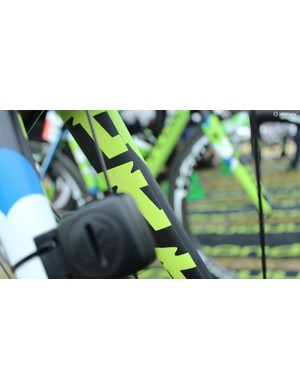 The new designs appear to be wrapped on the SuperSix Evo's forks