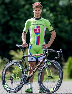 Peter Sagan may well trade this green jersey for the Tour's green jersey