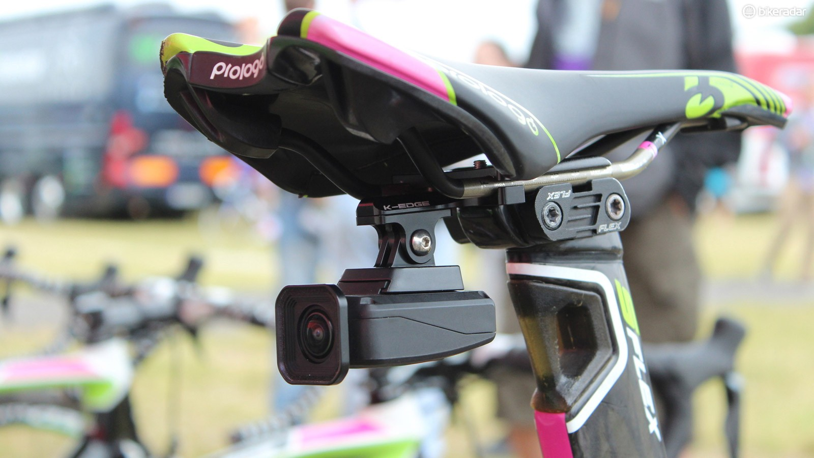 Shimano cameras are being used by most Shimano-sponsored teams